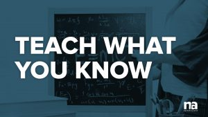 teach-what-you-know