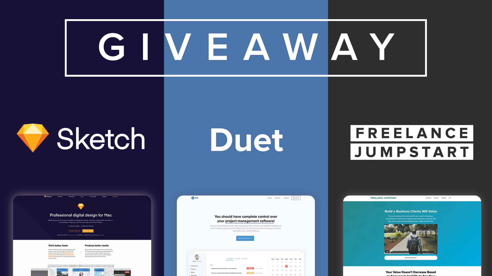 Freelance Jumpstart Giveaway
