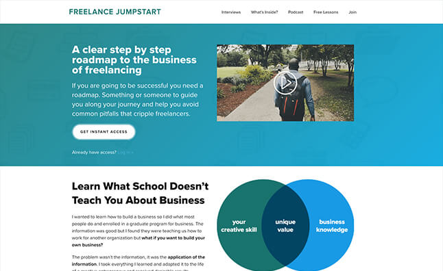 Freelance jumpstart master the business side of freelancing fandeluxe Gallery