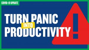panic into productivity